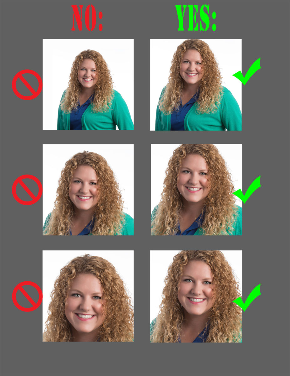 a guide for how to properly crop your square facebook profile picture, as well as your LinkedIn Pinterest, and Instagram profile pictures